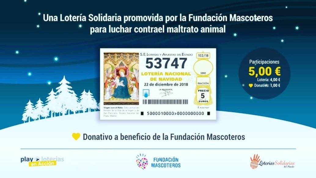 loteria fundacion mascoteros